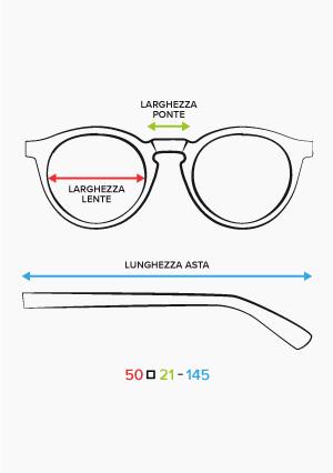 La tua taglia di occhiali